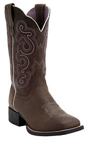 s quickdraw boots ariat bad lands brown quickdraw wide square toe