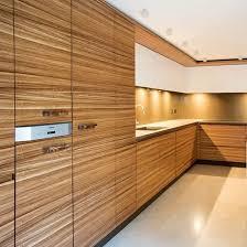 best wood veneer for kitchen cabinets zebrano wood veneer contemporary kitchen cabinets kitchen