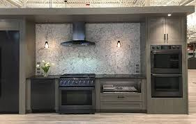 gray kitchen cabinets with black stainless steel appliances should you buy black stainless steel appliances reviews