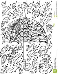 coloring pages for adults autumn