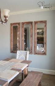 Modern Mirrors For Dining Room Love These Mirrors By Shanty 2 Chic Diy Pinterest Room