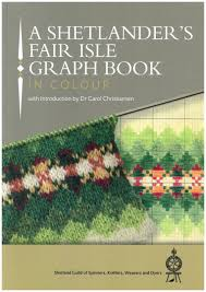 a shetlanders fair isle graph book by the shetland guild of