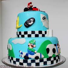 mario cake leelabean cakes mario kart cake