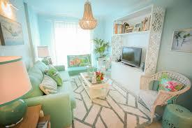 ana antunes sala de estar living room opal blue sofa