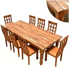 unique rustic wood dining table on home interior design models
