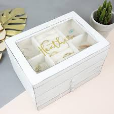 personalised jewelry box personalised wooden jewellery box angel