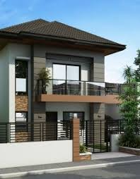 Modern Simple Two Storey House Design With Terrace  valoblogicom