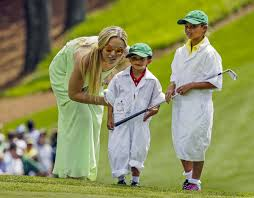 tiger woods turns masters into family day u2039 clik hear