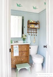 wallpaper for the powder room half baths bath and cottage style
