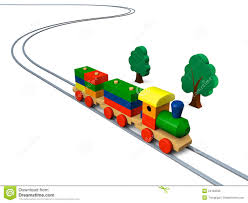 wooden toy train illustration royalty free stock photo image