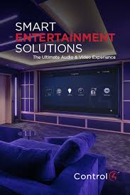 Simple Home Theater Design Concepts Multi Room Audio Video Distribution System Control4