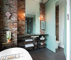Exposed Brick Apartments Rugged And Ravishing 25 Bathrooms With Brick Walls Bricks