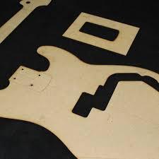 p bass template 28 images desk guitar headstock templates