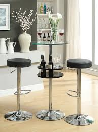 Glass Bar Table Glass Top Dining Sets Lasvegasfurnitureonline