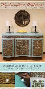 diy furniture makeover tutorial distressed stencils royal