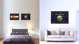 Montana Flag Montana State Flag Home Decor Office Wall Art Decoration Bedroom