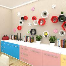 Diy Honeycomb Shelves by Hexagon Shelves Ebay