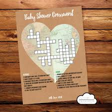 baby shower crossword puzzle image collections baby shower ideas