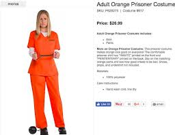 Orange Prison Jumpsuit Halloween Costume Hillary Clinton Halloween Costumes Trendy U2014 Googling