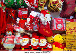 decorations sale christmas decorations on sale in negombo sri lanka stock photo