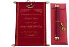 scroll wedding invitations scroll wedding invitations at rs 68 s andheri mumbai