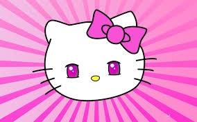 kitty wallpaper pink wallpapersafari