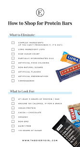 the scary truth about protein bars u2014and 4 ways to choose a healthy one
