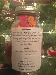 Homemade Valentines Gifts For Him by 365 Day Note Jar For Boyfriend Or Girlfriend Gifts Pinterest