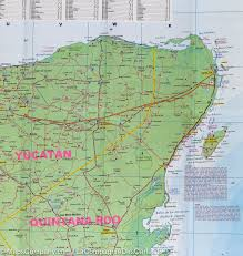 download southern mexico map major tourist attractions maps