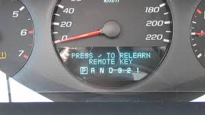 how to program a keyless remote for 2009 chevy impala in your car