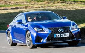 lexus sports car blue lexus rc f review u2013 a muscular sports saloon that speaks a