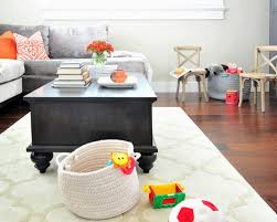 Kidfriendly Family Room Houzz - Kid friendly family room