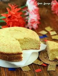 basic sponge cake recipe vegetarian recipes by tarla dalal