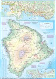 Hawaii Island Map Oahu Honolulu U0026 Big Island Travel Map Hawaii Itm Maps Company