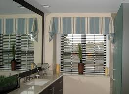 window treatment ideas for bathroom bathroom curtain with calm color home interiors