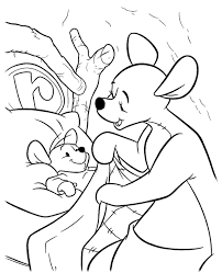 winnie pooh colouring 22 print color free