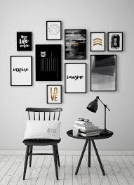Wall Decoration Wall Decor Black And White Wall Art and Wall