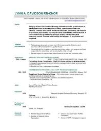 Rn Resumes Examples by New Grad Nursing Resume Template