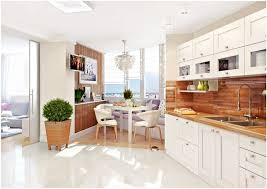 cuisine blanc laqué plan travail bois 1001 modèles fascinants du duo cuisine blanche plan de travail bois