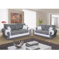 poids canapé 3 places canapé 3 places et canapé 2 places nubuk gris pvc blanc samba dya