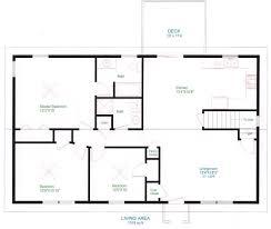 baby nursery home floorplan simple one floor house plans home