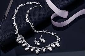 bridal pearl necklace sets images Emilia pearl wedding necklace set bella bride design jpg