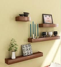 wall shelves design collection ideas mango wood wall shelves