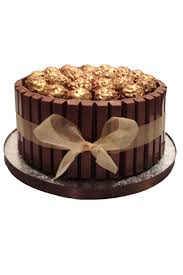 ferrero rocher kit kat chocolate cake regular flower delivery
