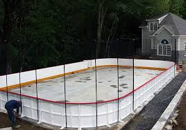 Backyard Rink Liner by Custom Ice Rinks Residential Permanent