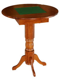 amish game room table pub height checkers chess backgammon