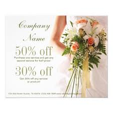 wedding planner business bouquets bridal shop wedding planner business flyer zazzle