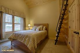 golden eagle log homes log home cabin pictures photos custom bedroom 2 with loft