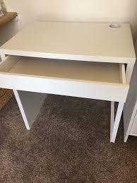 Micke Desk White by Ikea Micke Desk As England Office Furniture U0026 Equipment Page 1