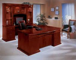U Shaped Desk 7302 77 Handsome Wood Veneer Mar Series Executive U Shaped